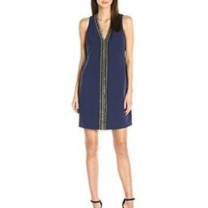 Laundry by Shelli Segal Sleeveless Beaded Dress